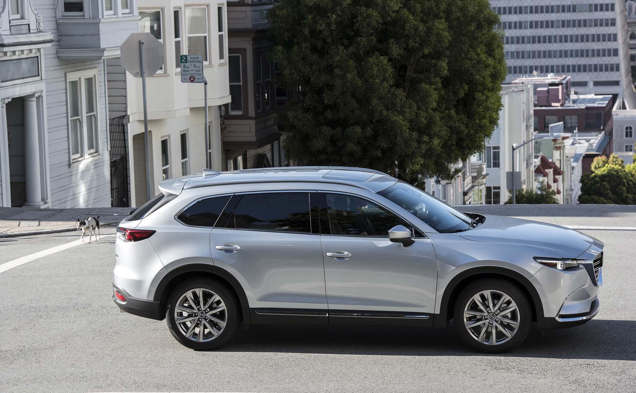 2016 Mazda CX 9 side profile 03
