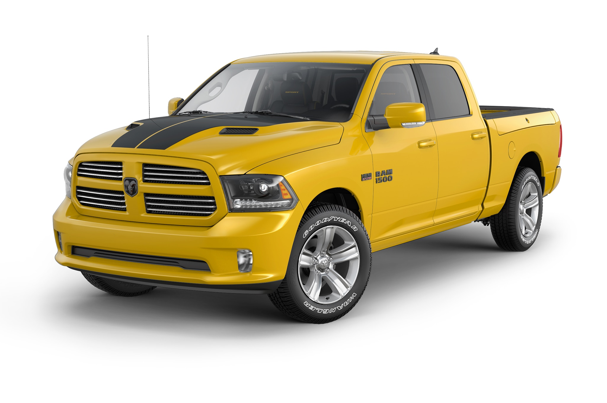 2016 ram 1500 stinger yellow sport unveiled. Black Bedroom Furniture Sets. Home Design Ideas
