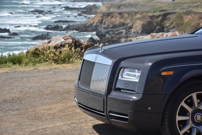 2016 Rolls Royce Phantom Coupe grille