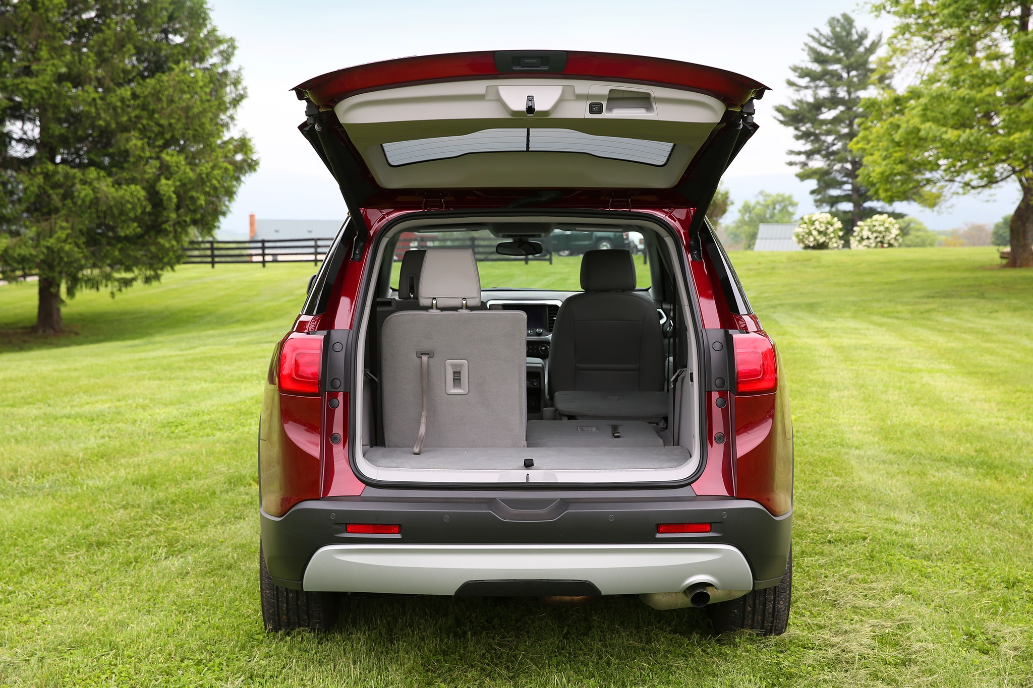 2017 gmc acadia cargo space best new cars for 2018. Black Bedroom Furniture Sets. Home Design Ideas