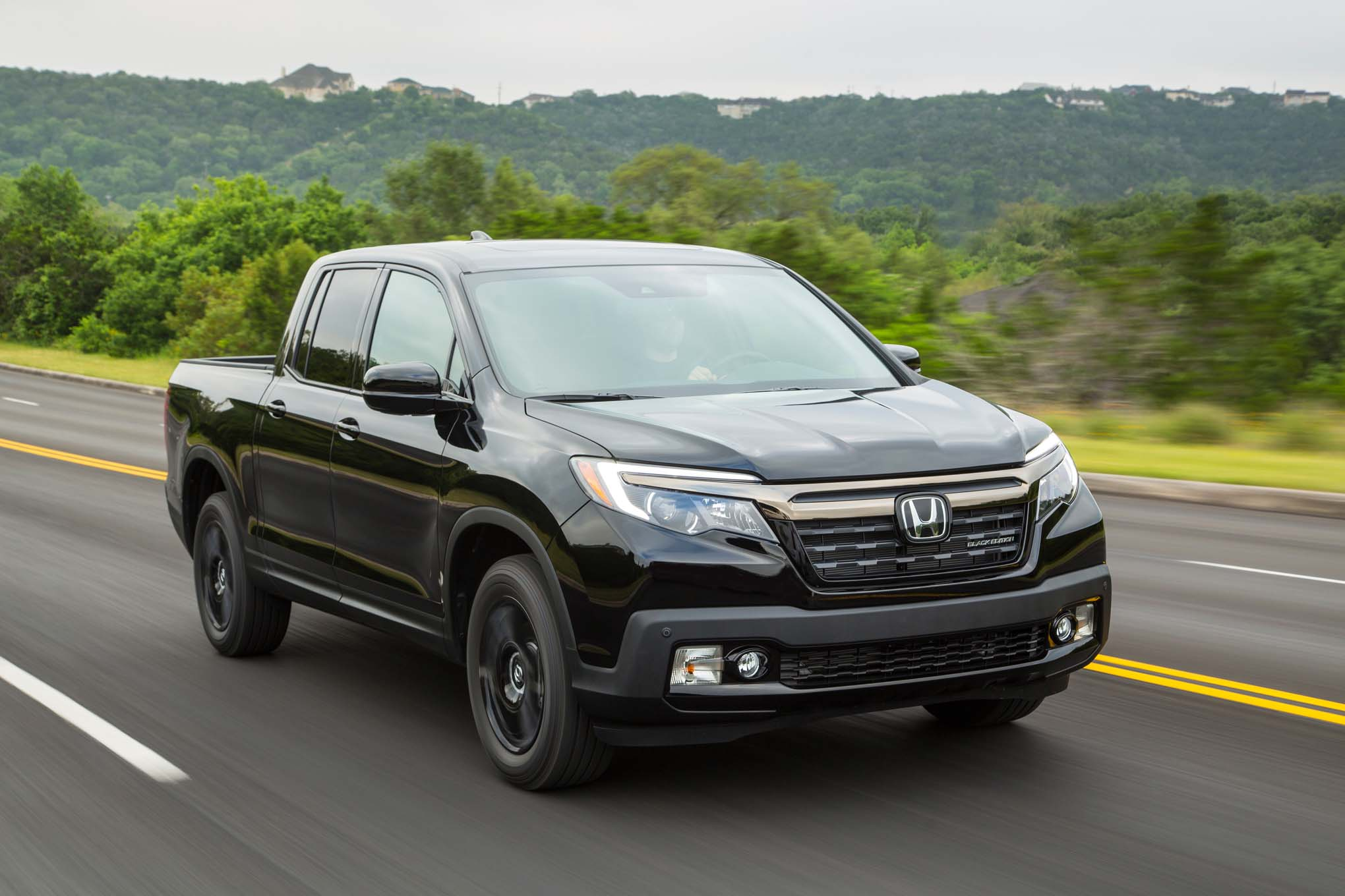 2017 Honda Ridgeline Black Edition front three quarter in motion 02 by design 2017 honda ridgeline ridgeline fuse box at honlapkeszites.co