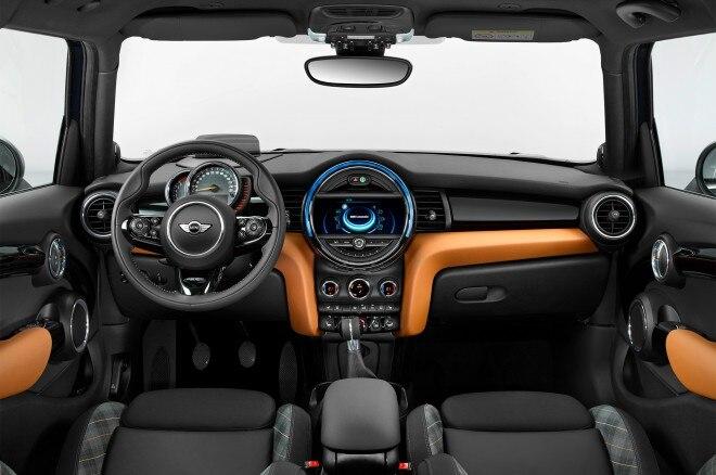 2017 Mini Hardtop 4 Door Seven Special Edition interior
