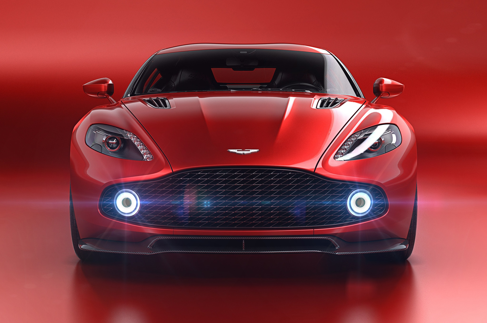 The New Aston Martin Vanquish Zagato Concept Is Painfully Gorgeous