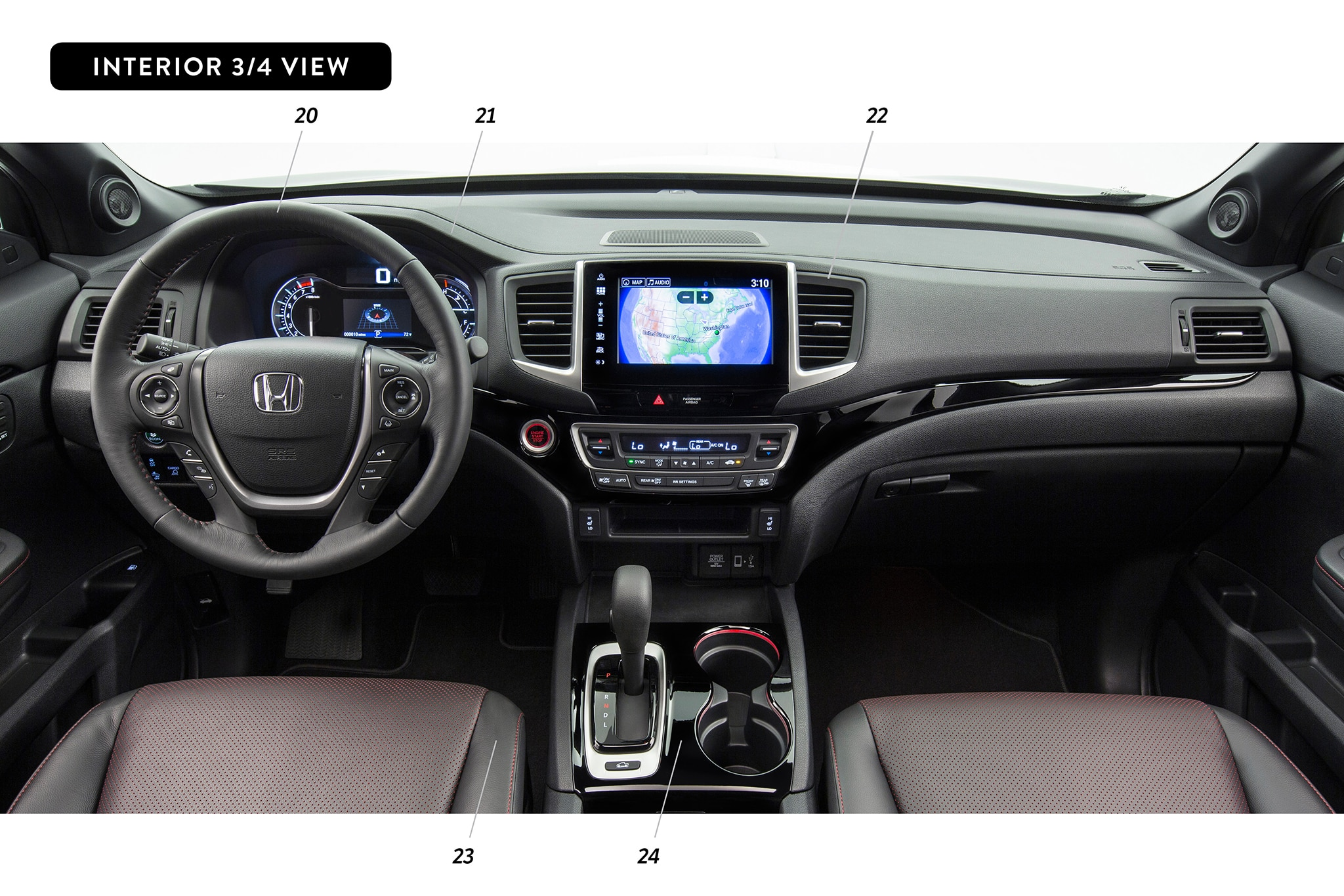 The Gallery For Honda Ridgeline Interior
