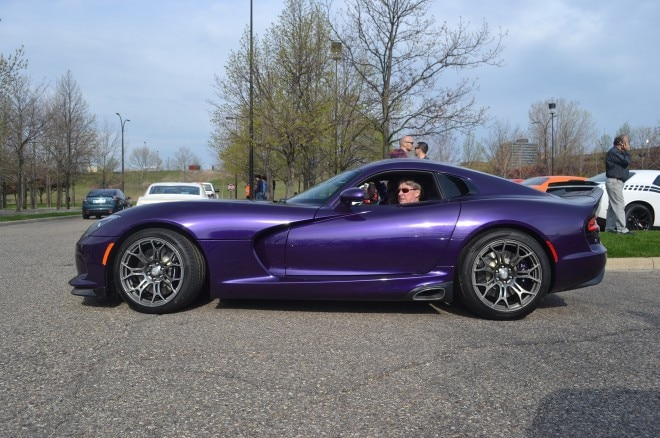 Dodge Viper Plum Crazy FCA Cars and Coffee