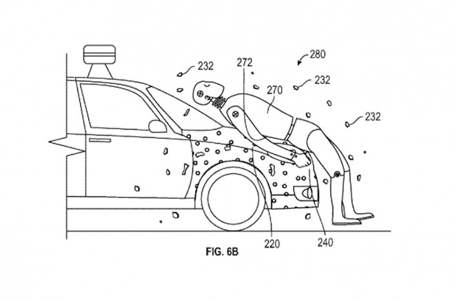 Google Adhesive Vehicle Layer for pedestrians 01