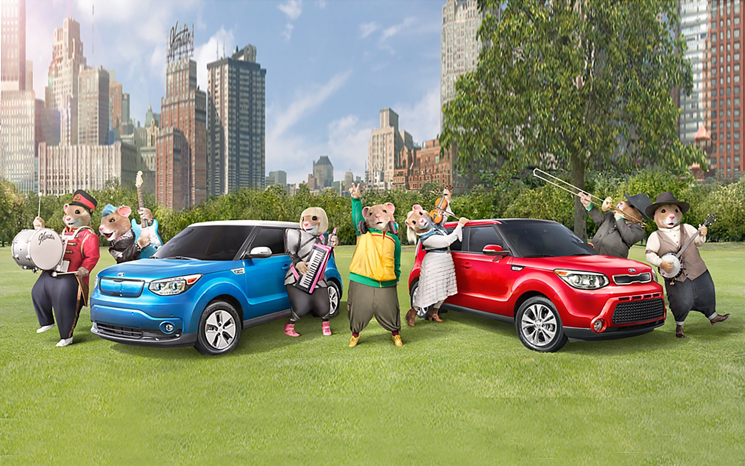 Musical Hamsters Return for 2016 Kia Soul Commercial (W/Video)