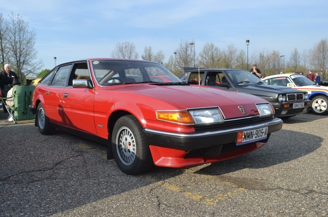 Rover SD1 FCA Cars and Coffee