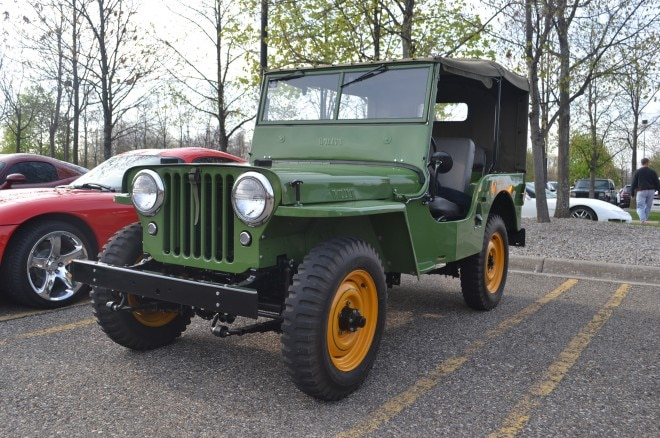 Willys Jeep CJ2A FCA Cars and Coffee
