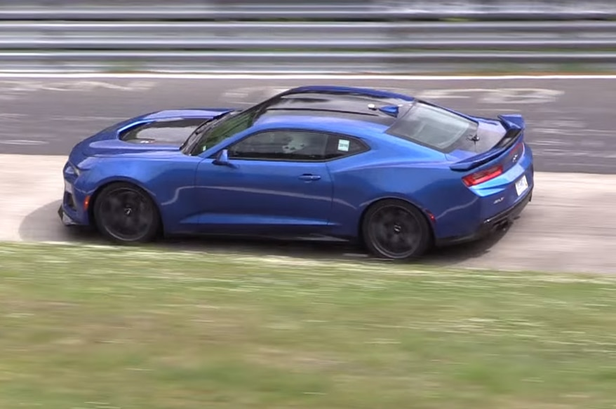 Watch The 2017 Chevrolet Camaro Zl1 Eat Up The Nurburgring