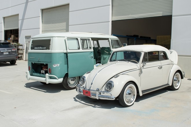 1964 Volkswagen Microbus with Zelectric conversion 06