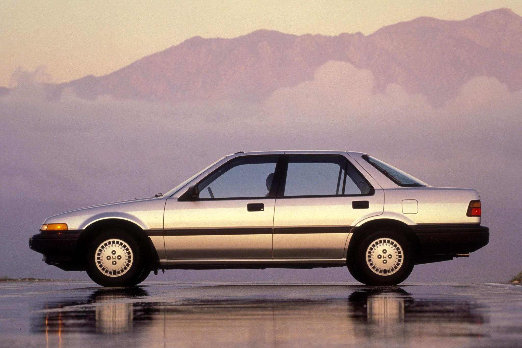 1986 honda accord 3rd generation 1 automobile for Honda accord generations