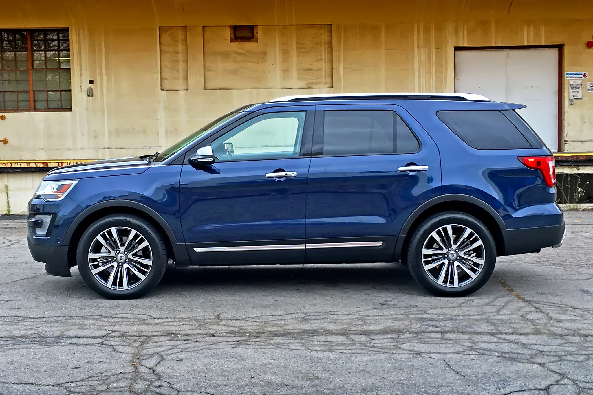week side ford explorer platinum one profile news with