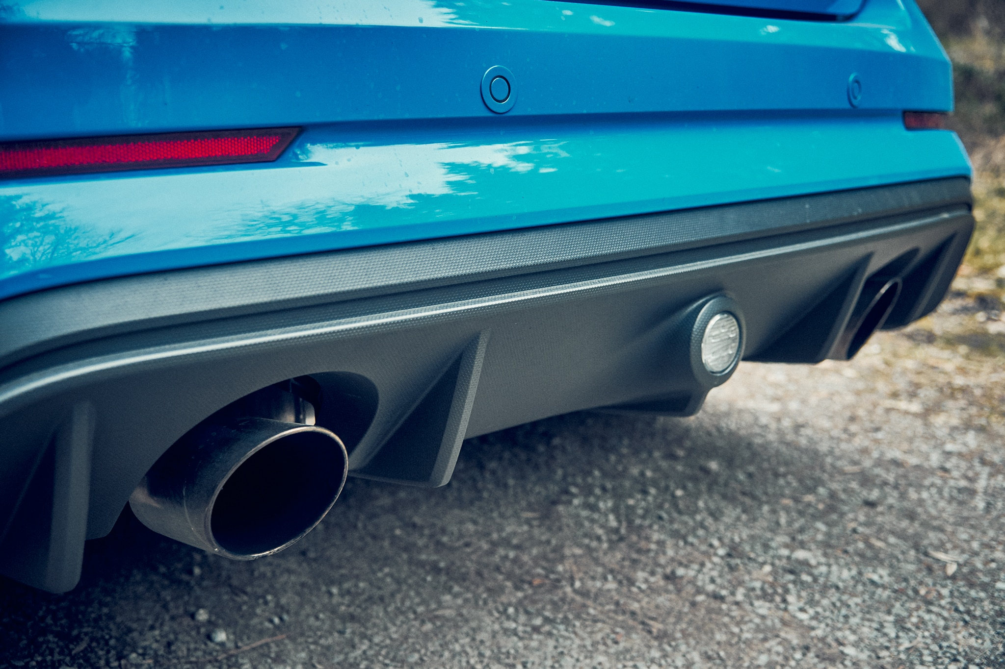 2016 Ford Focus Rs Tail Pipe Automobile Magazine