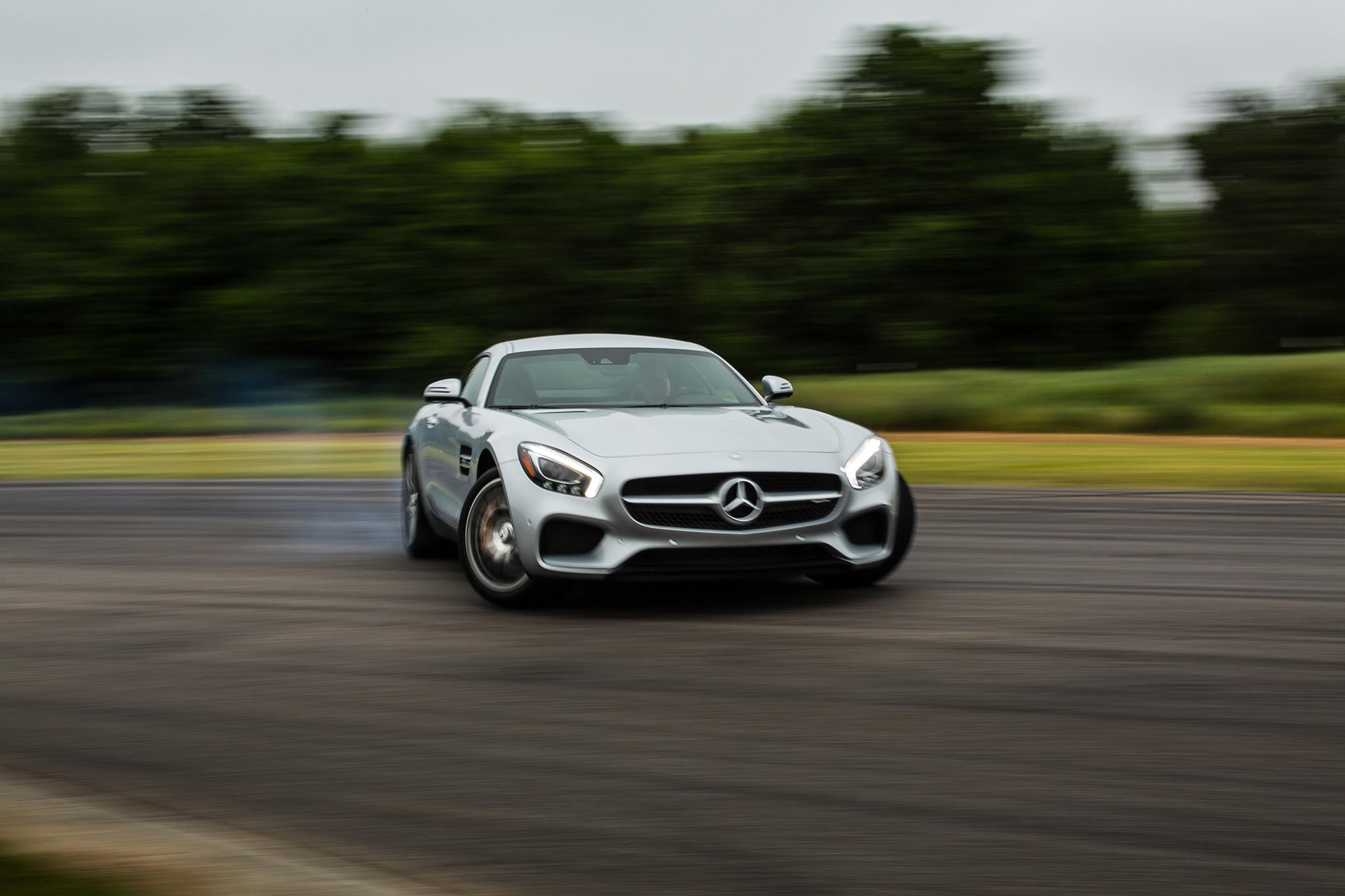 2016 Mercedes AMG GT S Drift 02