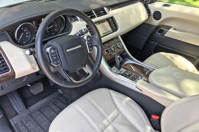 2016 Range Rover Sport HSE Td6 cabin