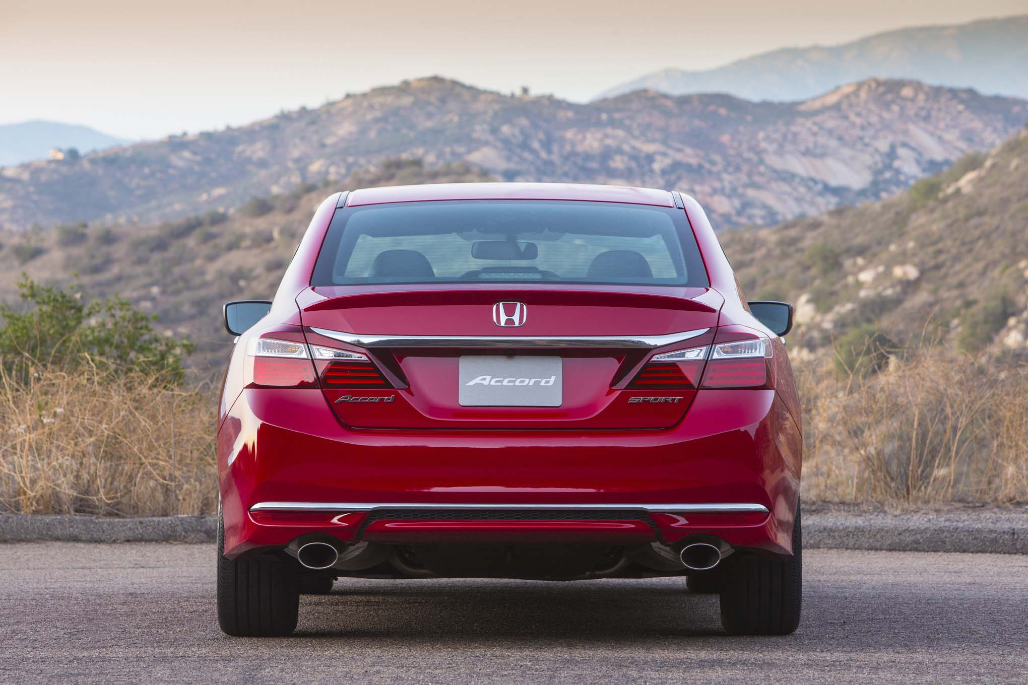 2017 Honda Accord Sport rear end | Automobile Magazine