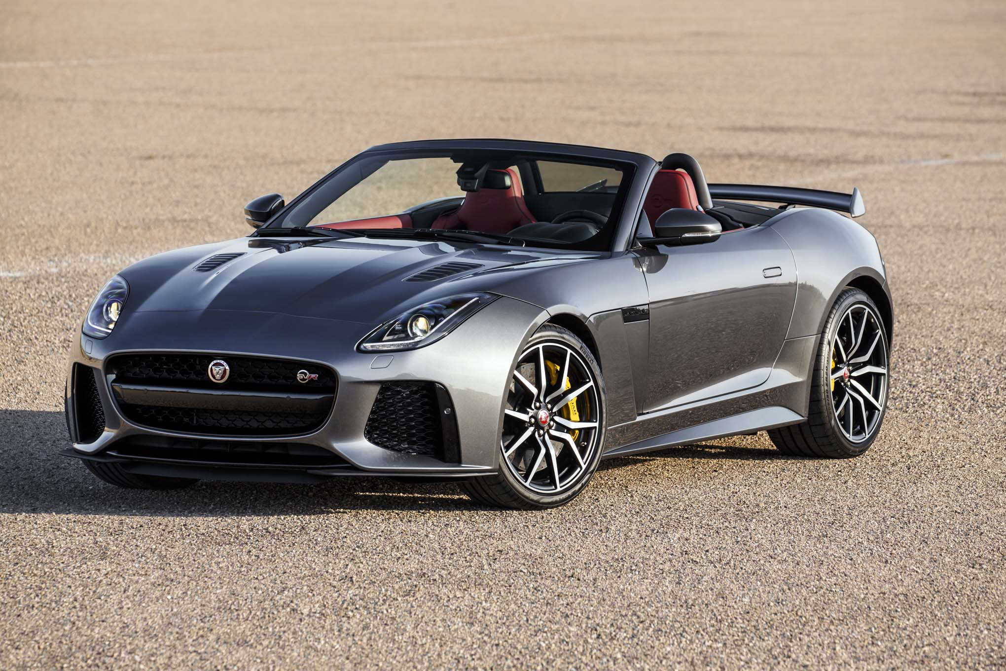 2017 Jaguar F-Type SVR First Drive