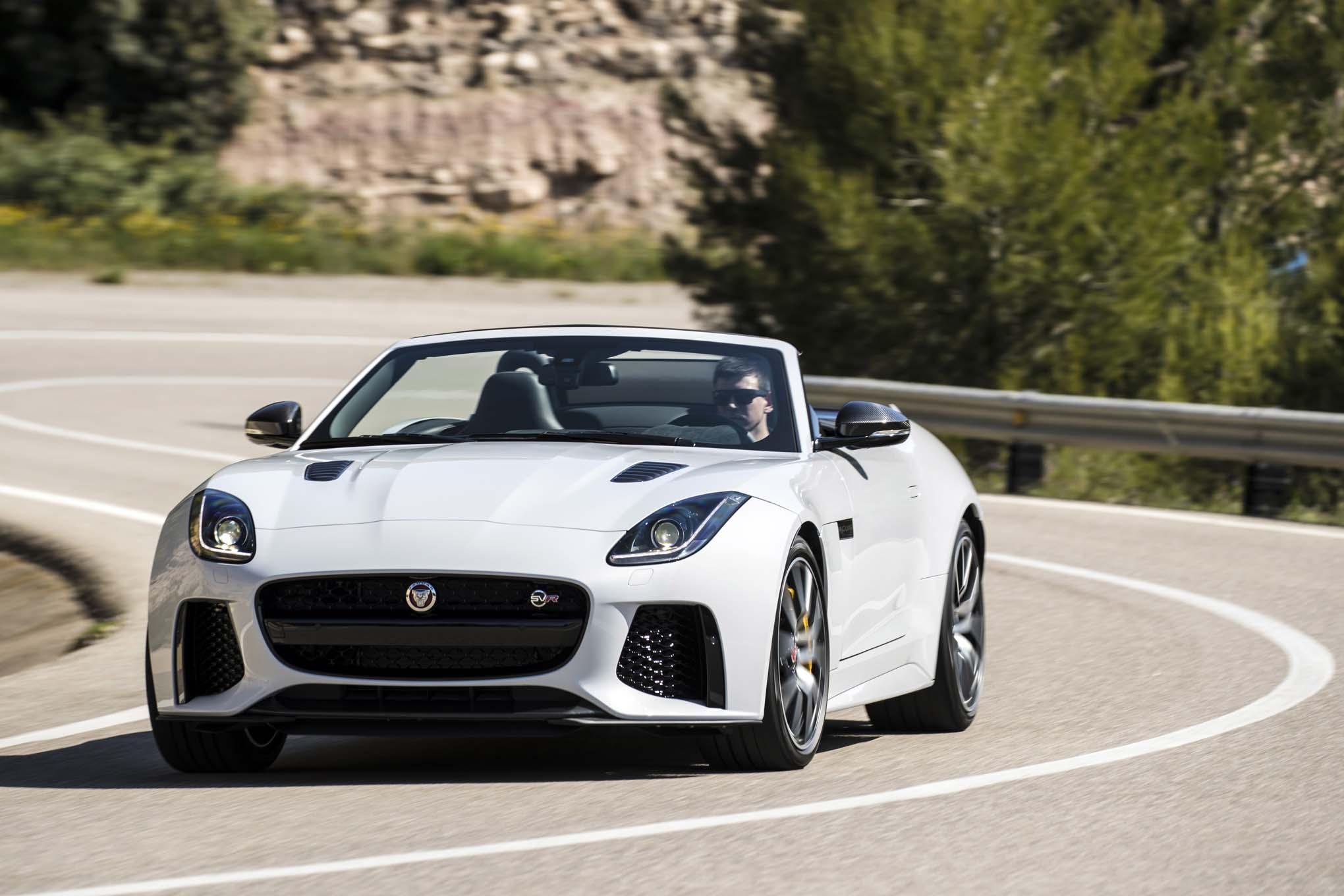 2017 jaguar f type svr first drive review automobile magazine. Black Bedroom Furniture Sets. Home Design Ideas