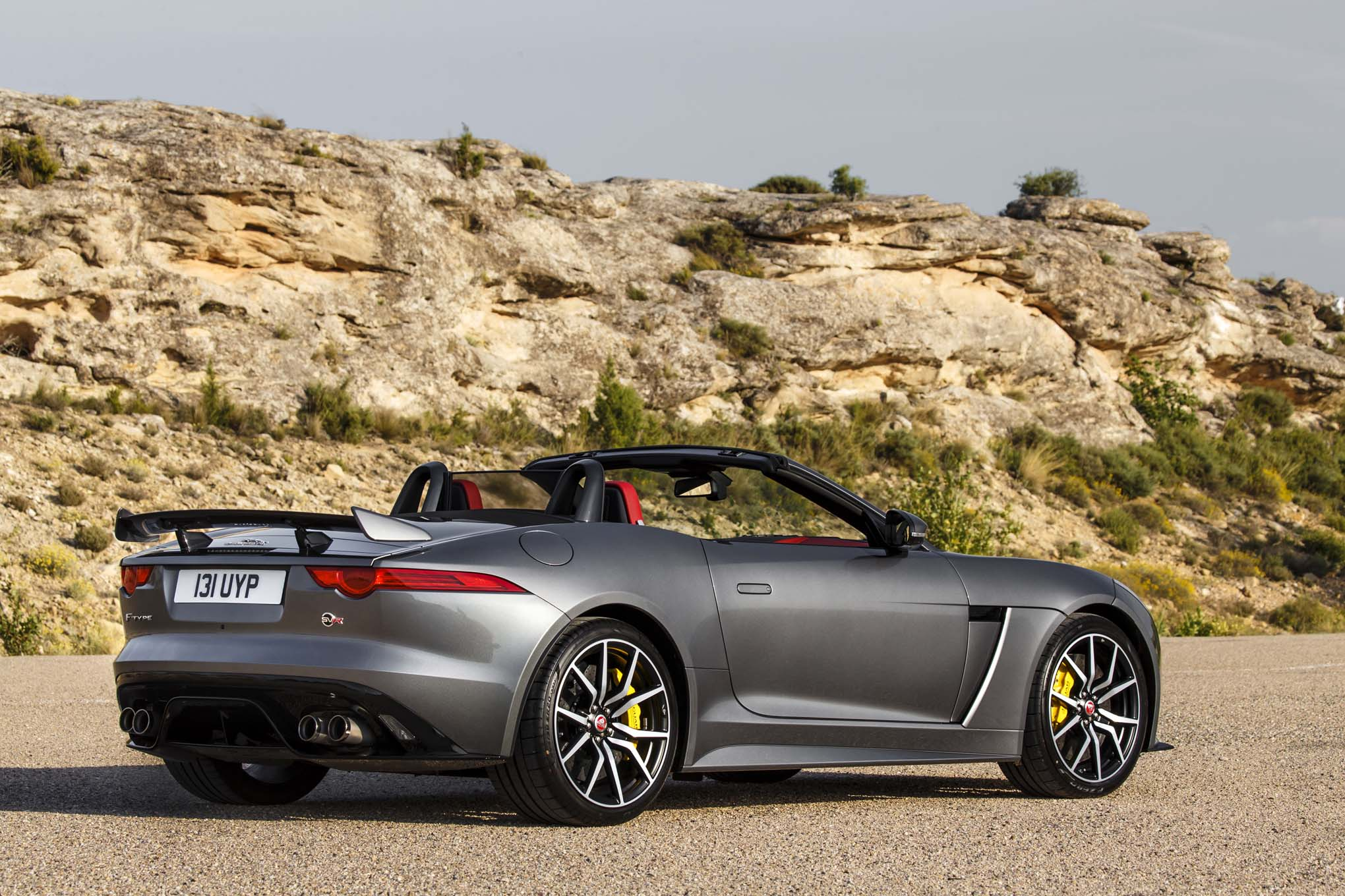 2017 jaguar f type svr first drive. Black Bedroom Furniture Sets. Home Design Ideas