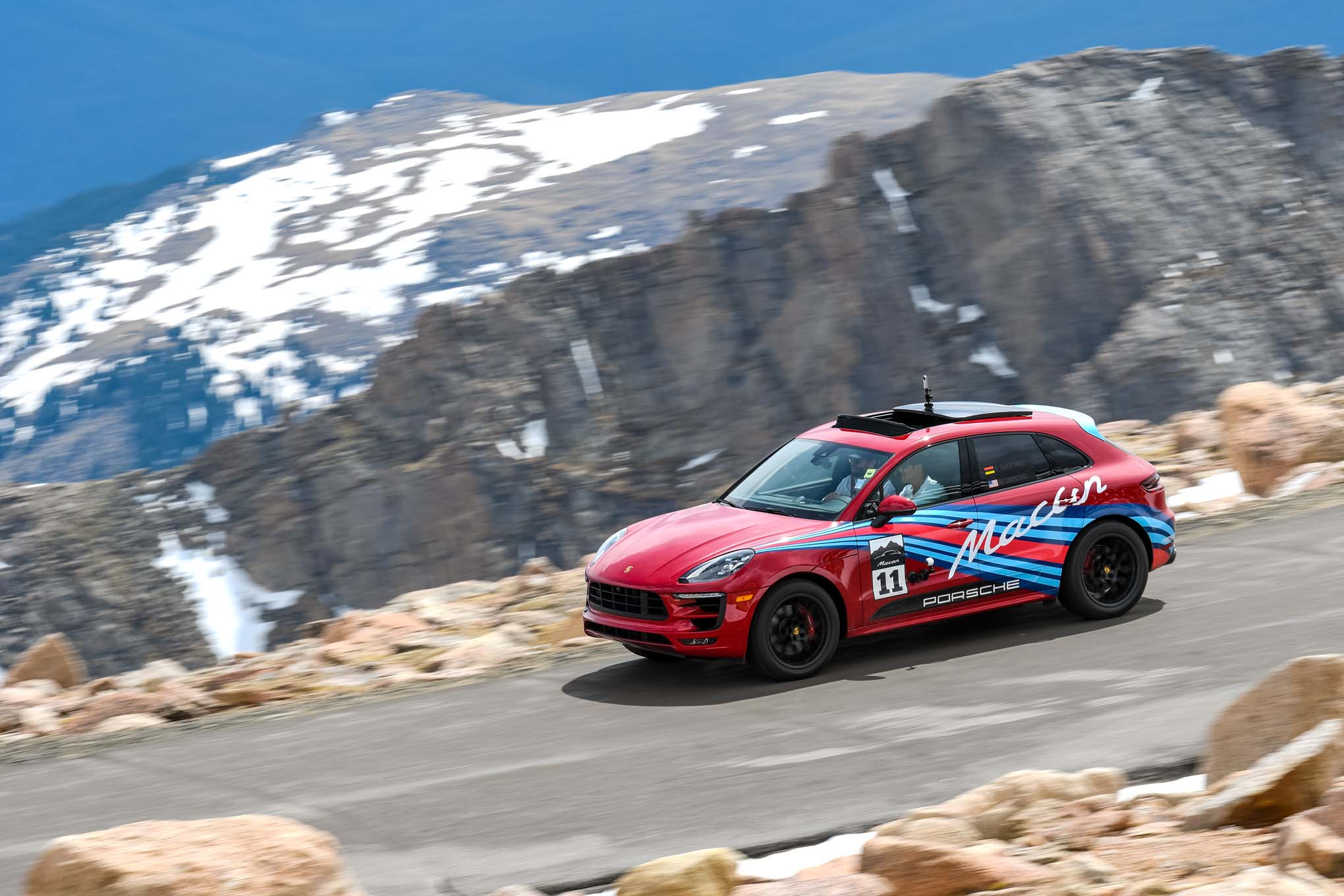 Climbing Pikes Peak In The 2017 Porsche Macan GTS