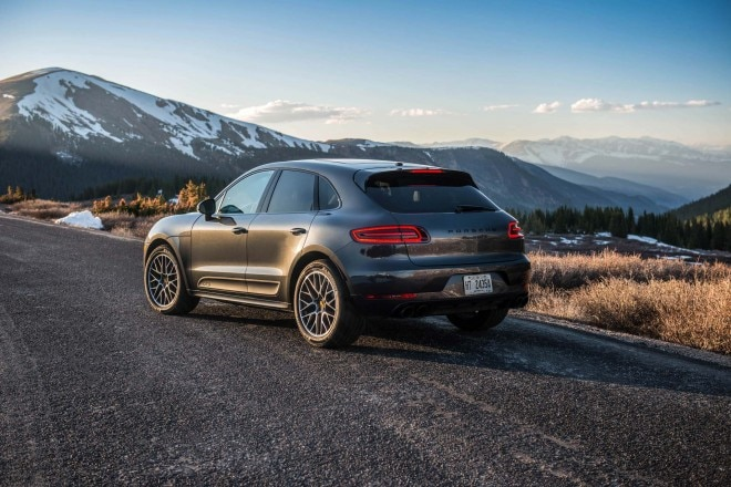2017 Porsche Macan GTS rear three quarters 02