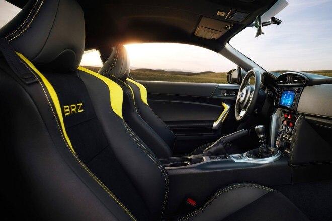 2017 Subaru BRZ Series Yellow special edition cabin