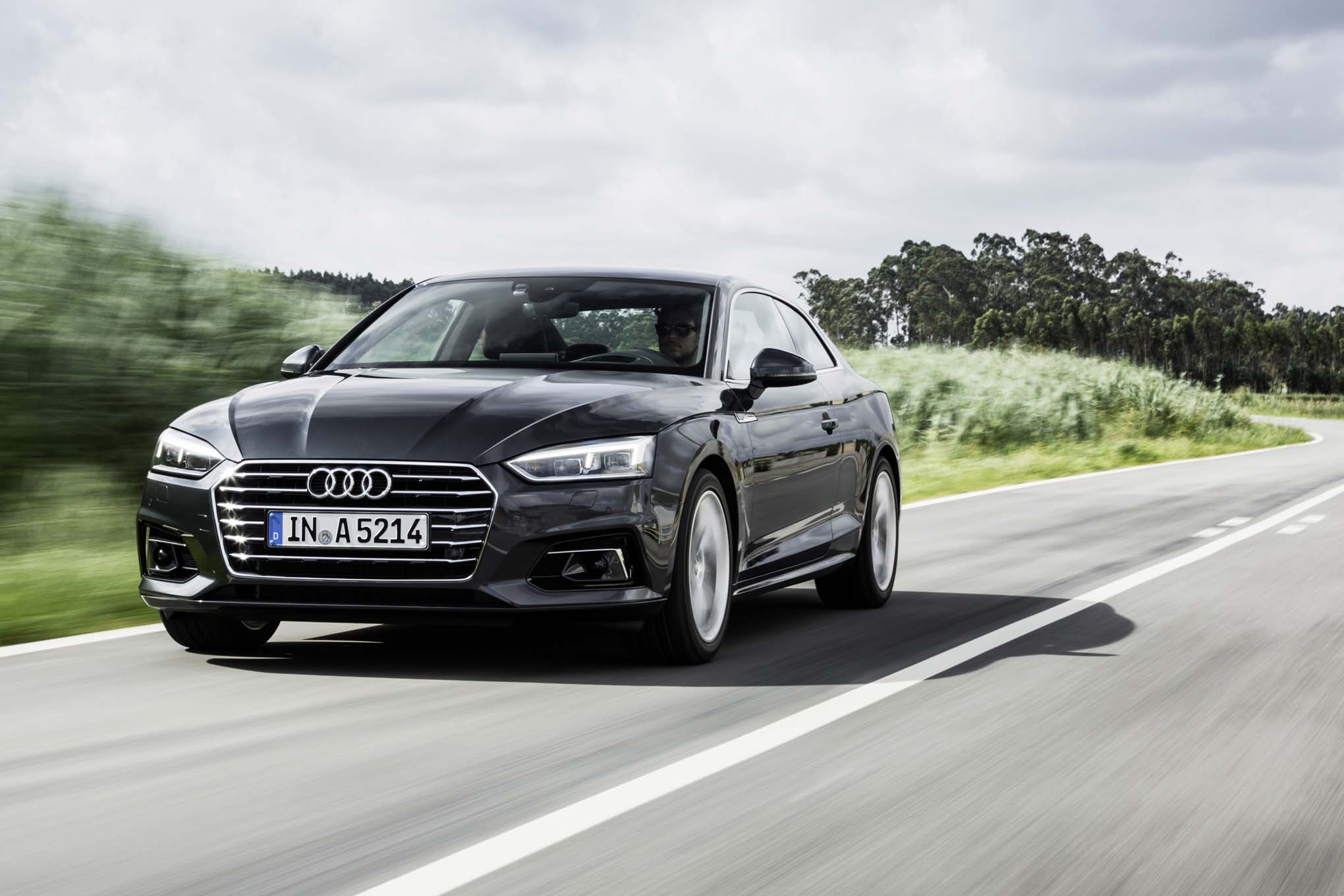 2018 Audi A5 front three quarter in motion 09 - Automobile