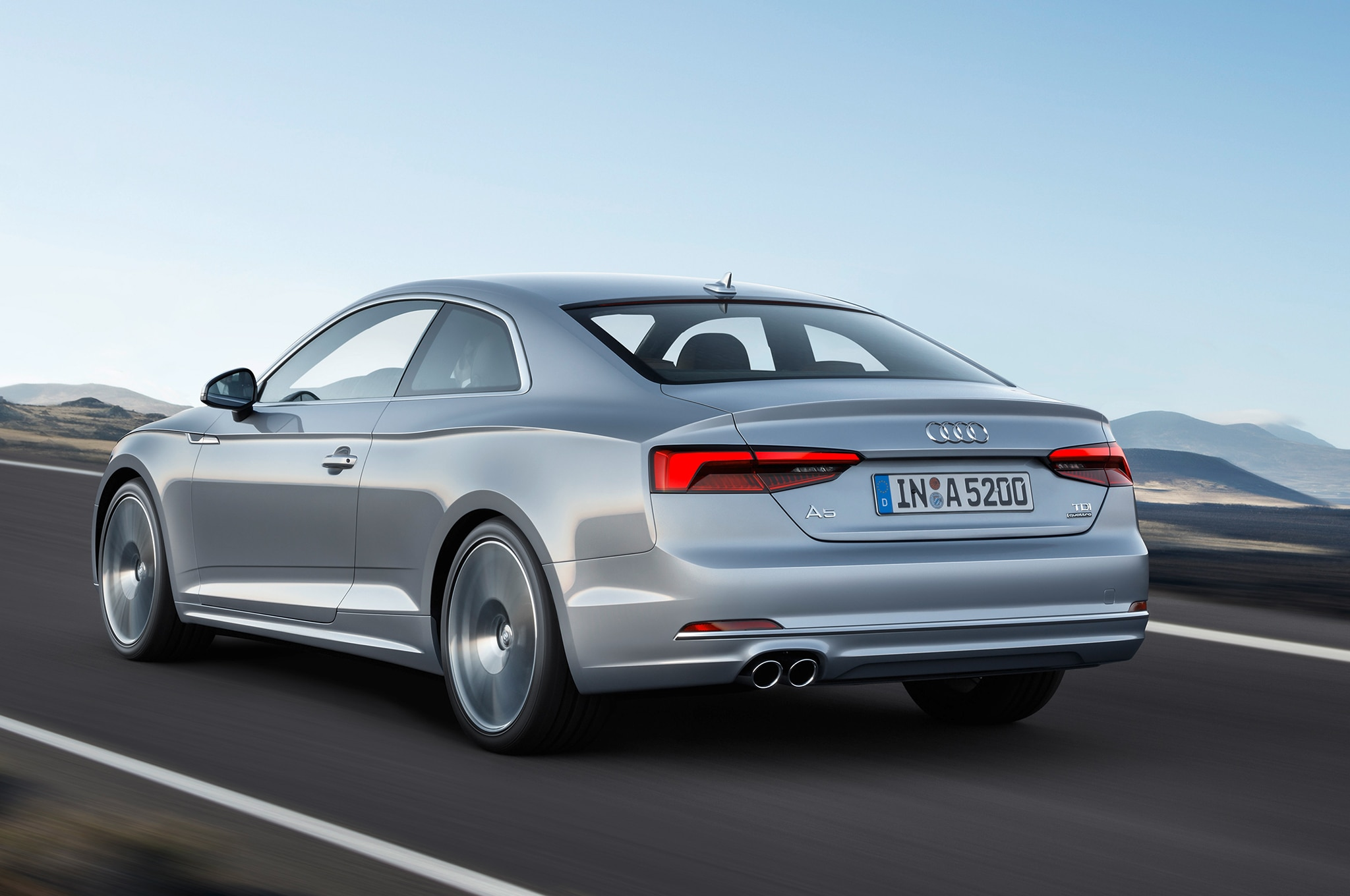 All-New 2018 Audi A5, S5 Coupe Goes Lighter, Sharper