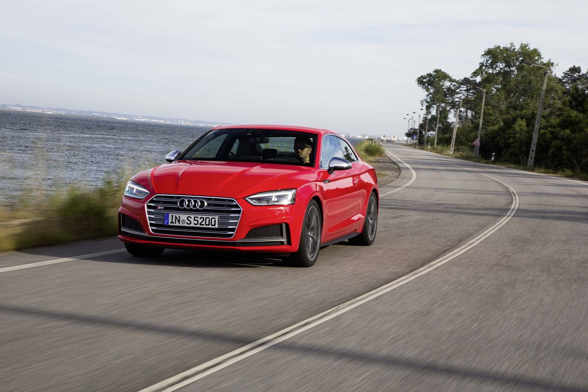 2018 Audi S5 Front Three Quarter In Motion 04