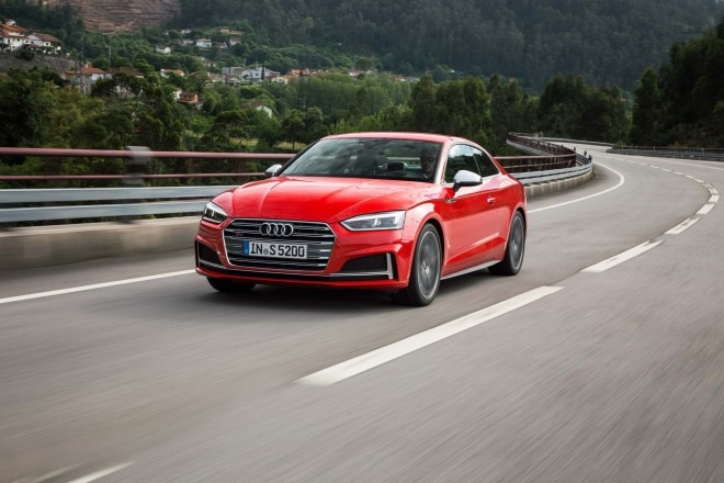 2018 Audi S5 front three quarter in motion 05