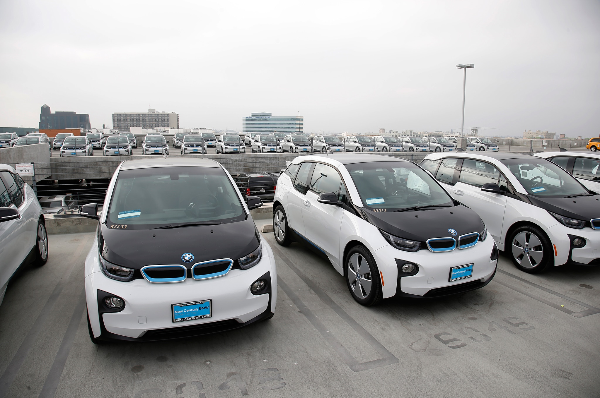 Lapd Getting 100 Bmw I3 Evs For Non Emergency Duty
