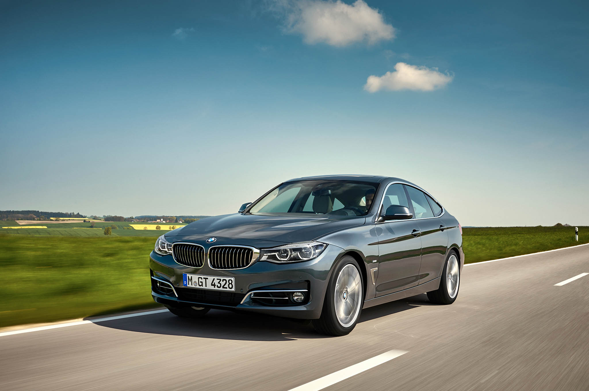 refreshed bmw 3 series gran turismo debuts for europe automobile magazine. Black Bedroom Furniture Sets. Home Design Ideas