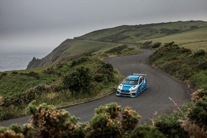 Isle of Man Subaru WRX STI 05