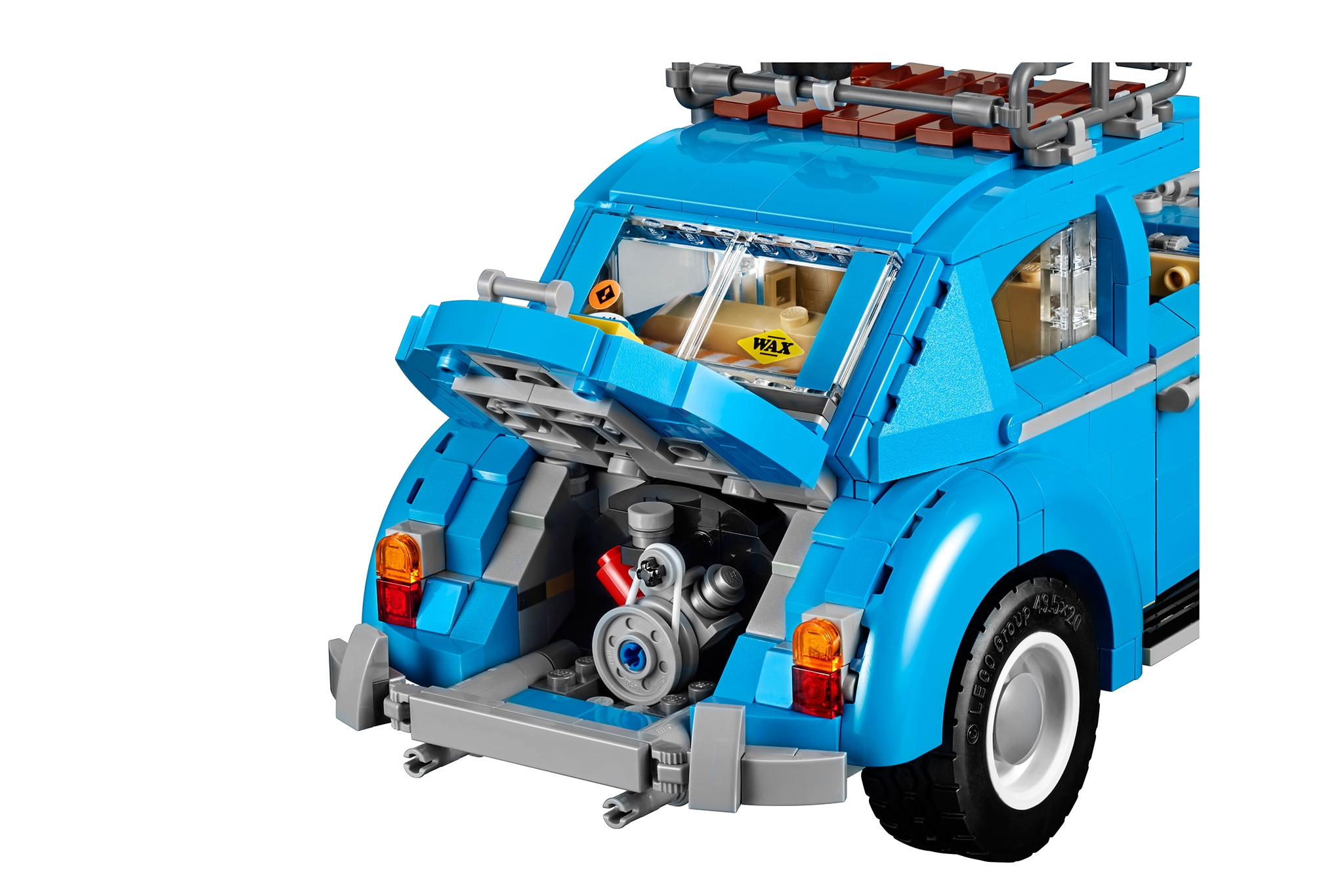 legos  volkswagen beetle set  appeal    beach bum automobile magazine
