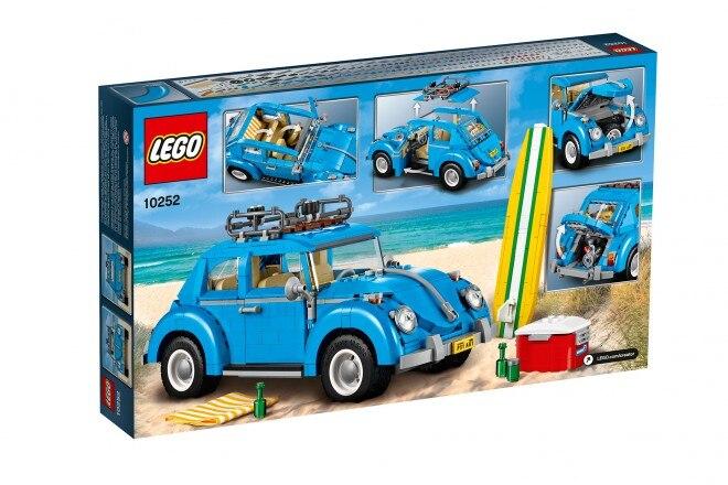 Lego Creator Expert 1960s Volkswagen Beetle 08