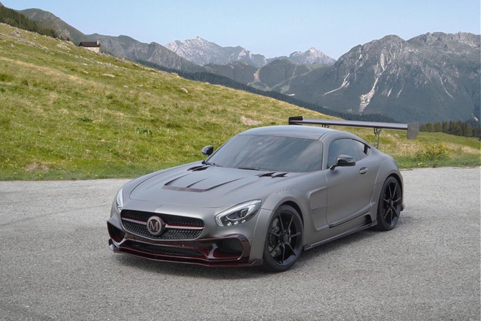 one off mansory mercedes amg gt s piles on the carbon fiber automobile magazine. Black Bedroom Furniture Sets. Home Design Ideas