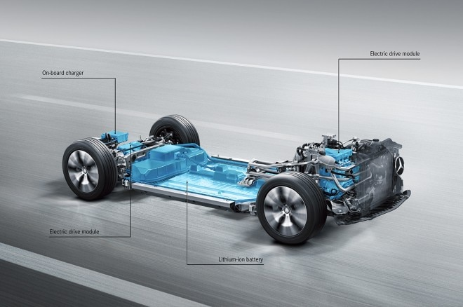 Mercedes Benz multi model electric vehicle platform