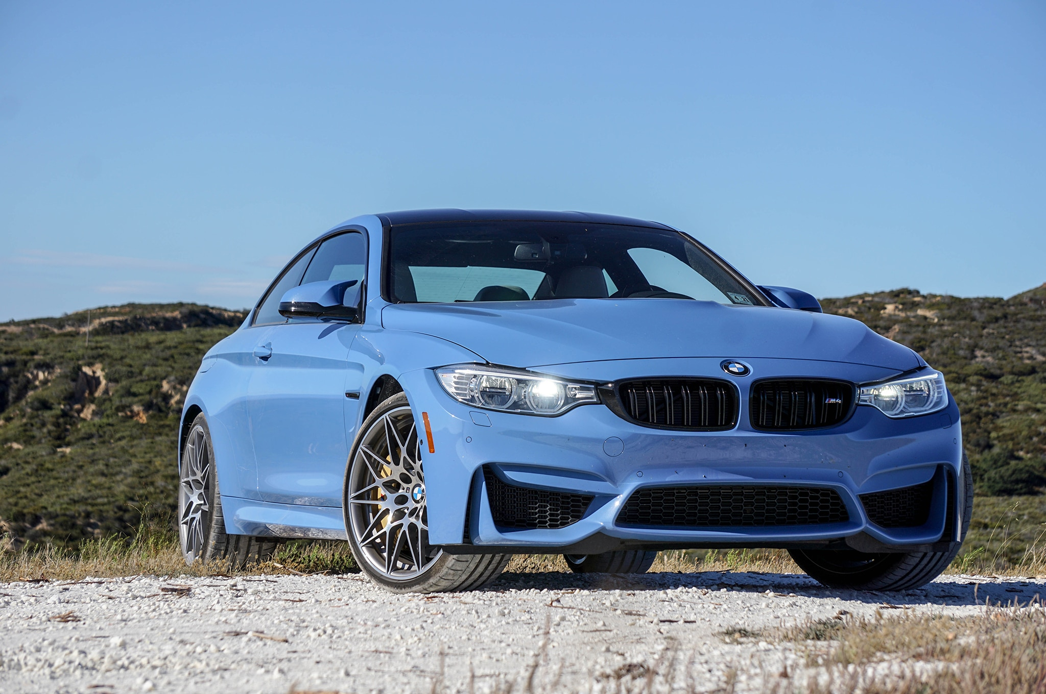 2016 BMW M4 Competition Package Front Three Quarter