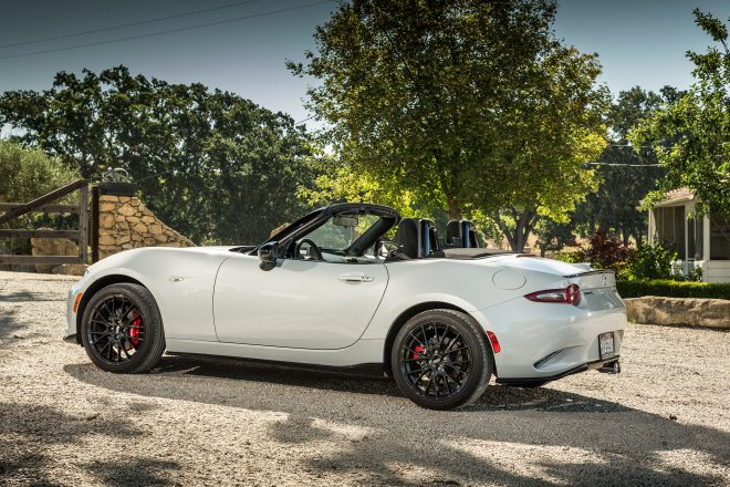 2016 Mazda MX 5 Miata Club side profile 03
