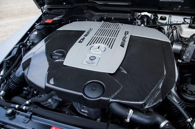 2016 Mercedes AMG G65 engine detail