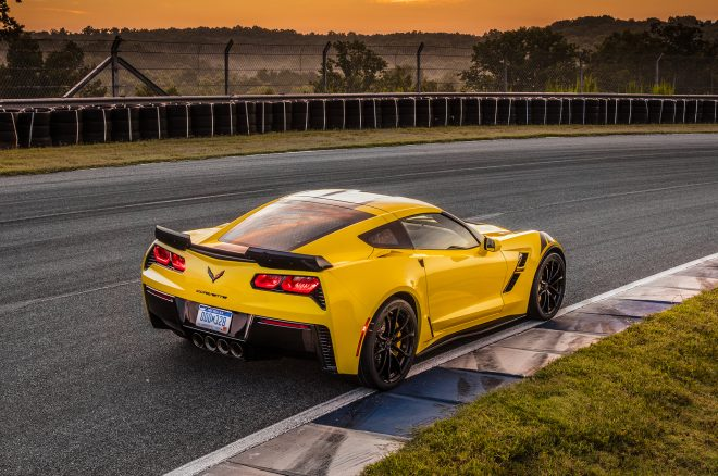 2017 Chevrolet Corvette Grand Sport rear three quarters