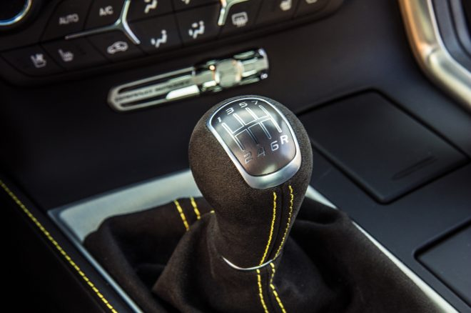 2017 Chevrolet Corvette Grand Sport shifter