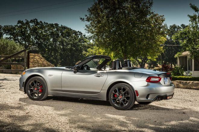 2017 Fiat 124 Spider Elaborazione Abarth side profile 02