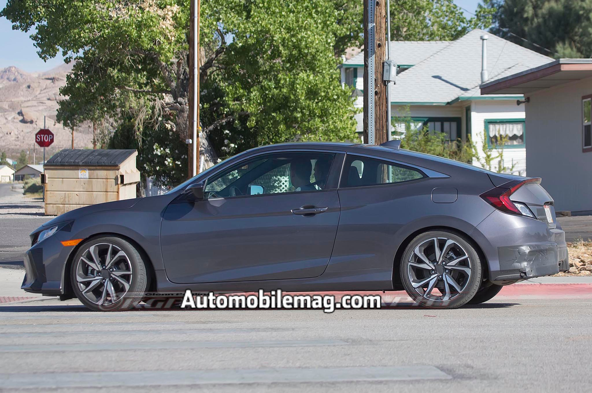 Expect the 2017 Honda Civic Si Coupe to make its official debut at ...