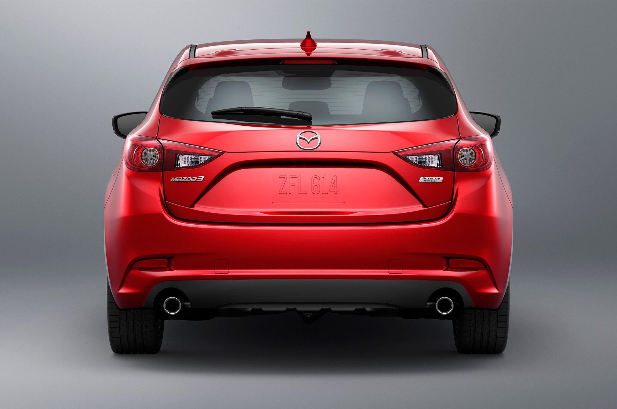 2017 Mazda3 Refreshed With Visual Tweaks, G-Vectoring ...