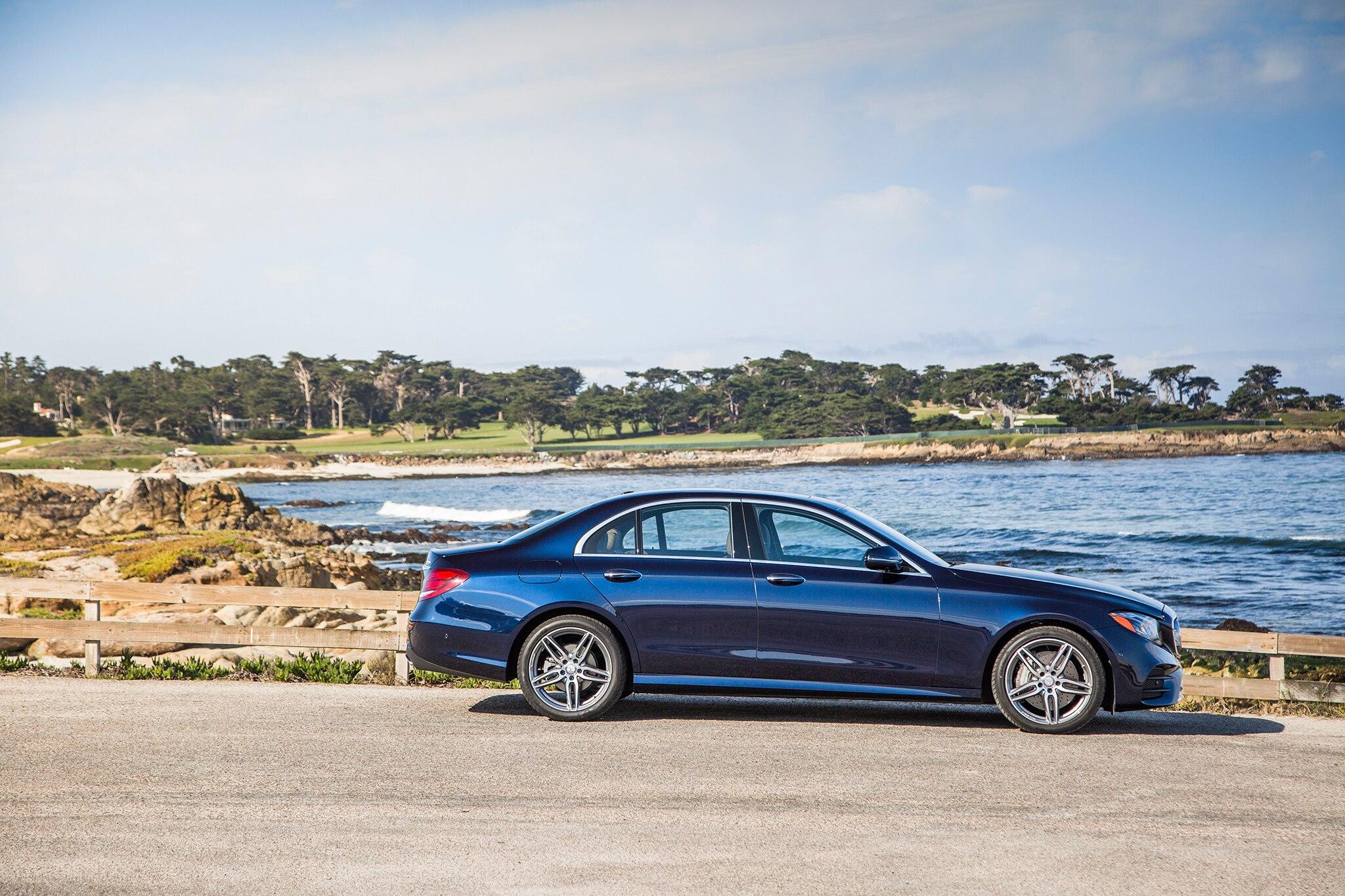 2017 mercedes benz e300 4matic side profile 02 for Mercedes benz e300 4matic