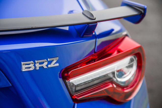 2017 Subaru BRZ rear wing