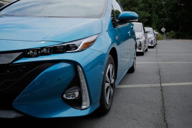 2017 Toyota Prius Prime headlamp