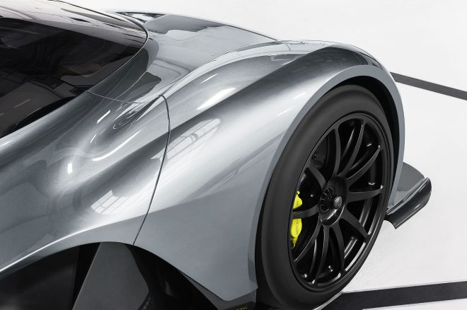 Aston Martin AM RB Wheel detail